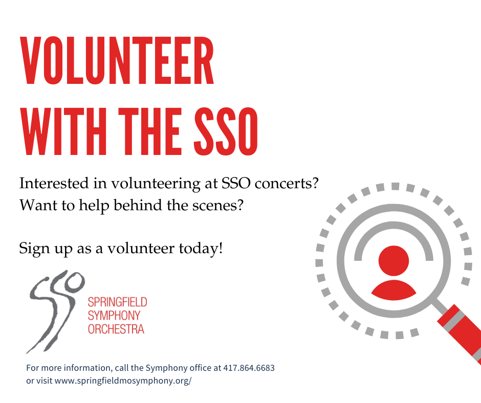 Volunteer with the Springfield Symphony Orchestra