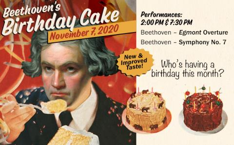 Beethoven's Birthday Cake Webslider